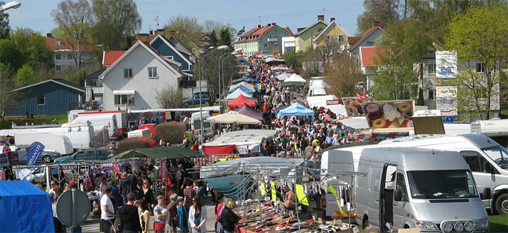 Image of the market in Ed.