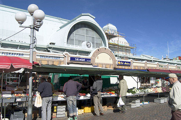 Gothenburg's Market Hall.