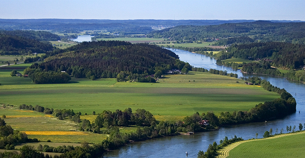 Landscape with the Göta River